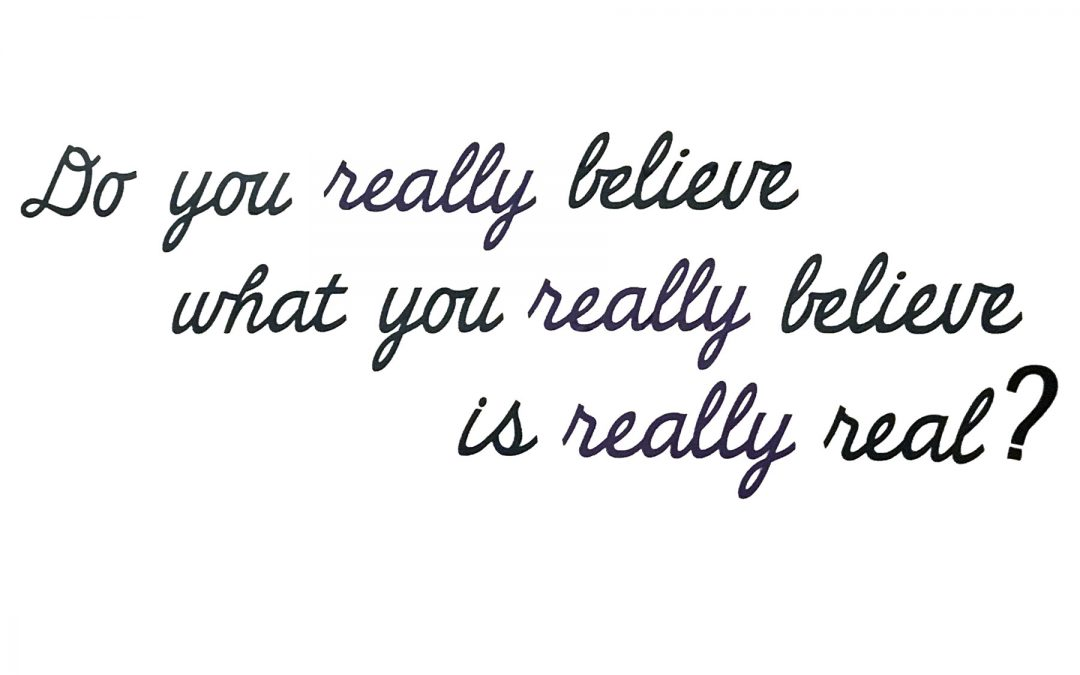 Why Do You Really Believe? – Series