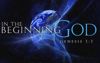 In The Beginning God…